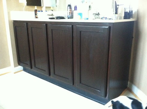 DIY Refinishing Cabinets